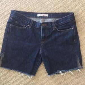 J Brand long jean shorts. Size 29